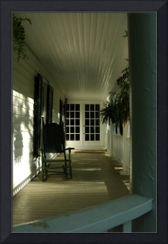 Cottage Porch in the Afternoon Light
