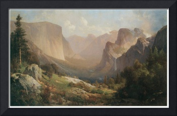 Thomas Hill's View of Yosemite Valley