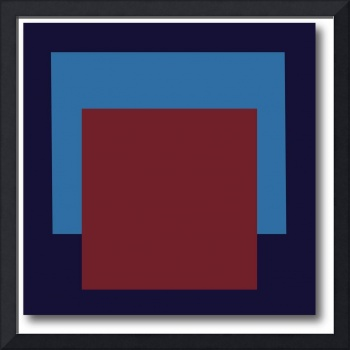 SQUARE FORMAT black red bluegray L