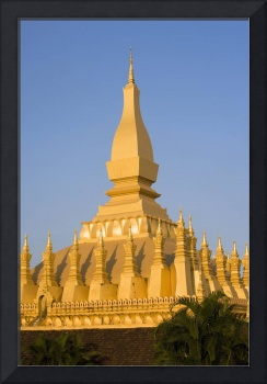 That Luang,Or Grand Stupa, Vientiane, Laos