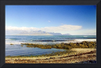 Capetown View from Robben Island, South Africa