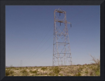 SCE 230-kV Single Circuit Transposition Tower