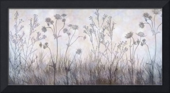 Wildflower Silhouettes Silvery grey