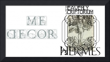 Heavenly Scriptorium Charm Book - Hermes cover