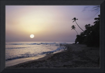 Sunset on Maria's Beach, Rincon, Puerto Rico