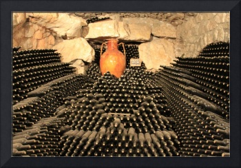 5,000 wine bottles in Italy