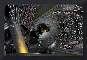 IN THE TUNNEL with Pilot at Warp Speed 1162