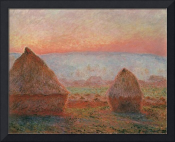 Monet_Claude_Haystacks_at_Giverny_the_evening_sun_