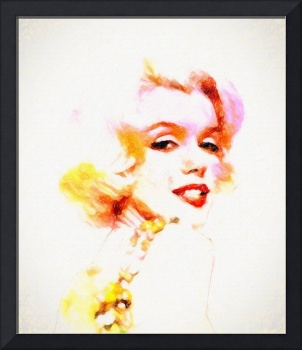MARILYN THE PINK SKETCH