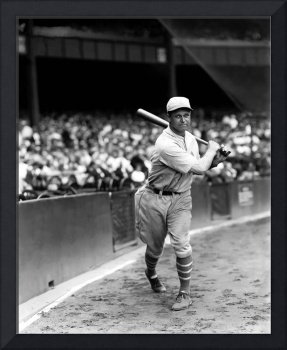 Jimmie Foxx batting follow through