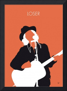 No123 MY Beck Minimal Music poster