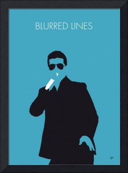No055 MY ROBIN THICKE Minimal Music poster