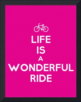 Life is a wonderful ride, Motivational Poster 3
