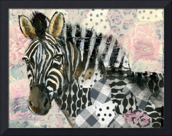 Zebra painting | wildlife art | african wildlife