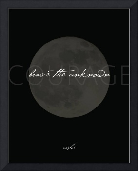 Brave the Unknown Moonlight in Black