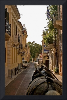 Horse Drawn Buggy in Plaka