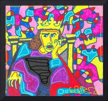 Scribble The King In The Castle