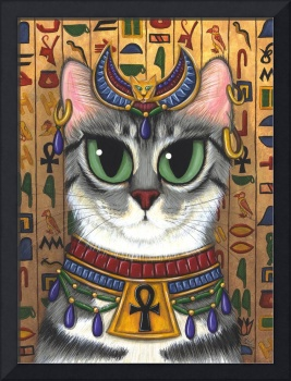 Bast Goddess ; Egyptian Cat God