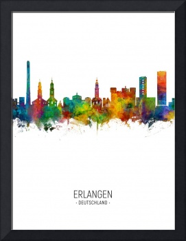 Erlangen Germany Skyline