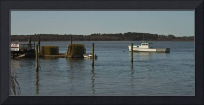 Lobster Boat and Dock
