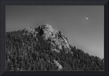 Crescent Moon and Buffalo Rock