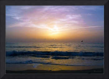 Treasure Coast Florida Tropical Sunrise SeascapeB3