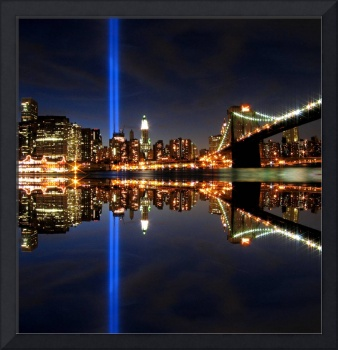 911 - Tribute in Light Memorial in NYC