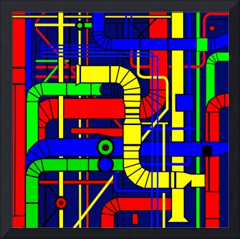 Inspired by the Centre Georges Pompidou