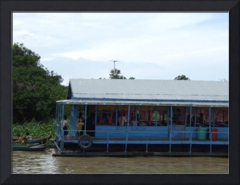 School at floating villages in Cambodia