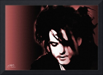 Robert Smith, The Cure - fine art giclee print