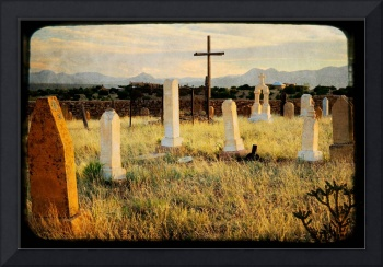 Galisteo Cemetery Cross