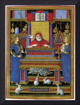 The Sforza Hours: St. Gregory