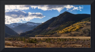 Colorado East Portal Autumn Panorama