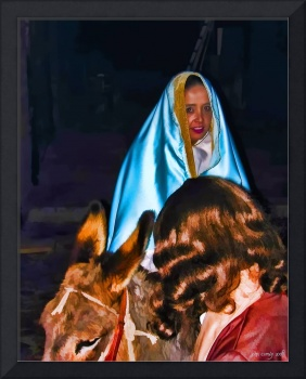 Christmas Scene - Mary and Joseph