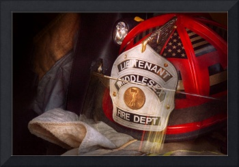 Fireman - Hat - The Lieutenants cap