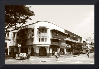 Good old Times , Old Town of Singapore