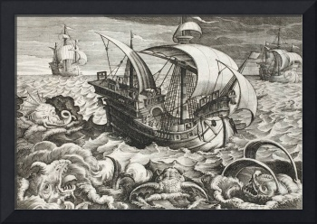 Hunting Sea Creatures, plate 84, illustration from