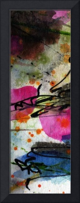 Modern Abstract Tallskinni #2 by Ginette