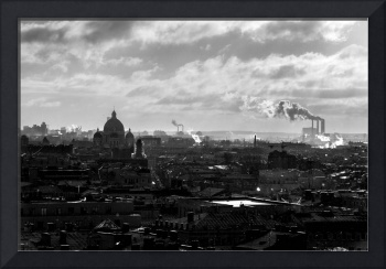 City in Black and White
