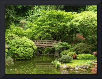 Bridge to Serenity ~ Portland Japanese Garden
