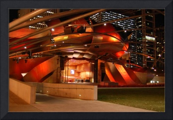 Stage in Millenium Park