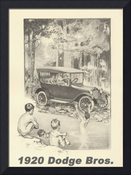 1920 Dodge Bros. Art