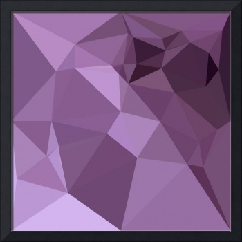 African Violet Abstract Low Polygon Background