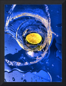 Lime Splash Special Effects Still Life Photograph