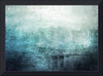 15c Abstract Seascape Sunrise Painting Digital