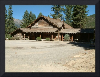 FRONT VIEW OF RANCH HOUSE
