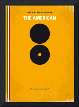 No088 My The American minimal movie poster