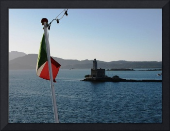 Olbia's Lighthouse (Sardinia)