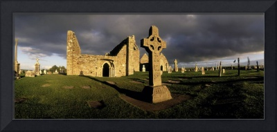 Cross Of The Scriptures at Clonmacnoise Monastery,