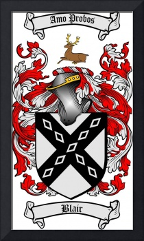 blair family crest blair coat of arms